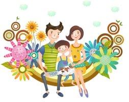 행복한 가족 이야기