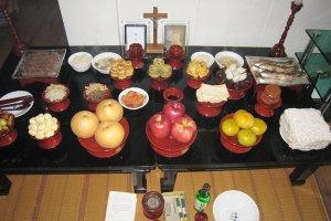 한국 천주교 가정 제례(기일 제사와 명절 차례) 예식
